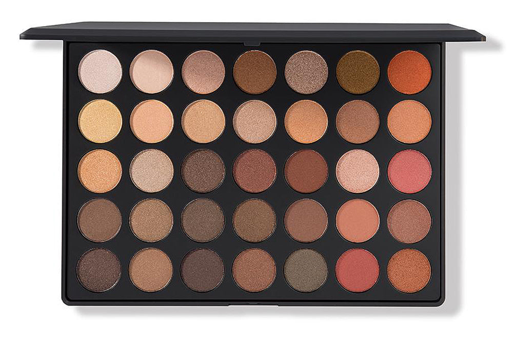 MORPHE 35OS - NATURE GLOW SHIMMER EYESHADOW PALETTE