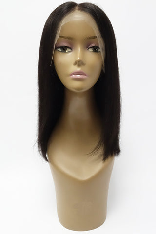 Indian Remy Natural Wave 100% Human Hair 360 Lace Front Wig