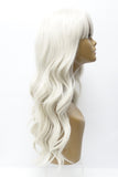 Shi | Heat Friendly Synthetic Long Wavy Wig with Bangs