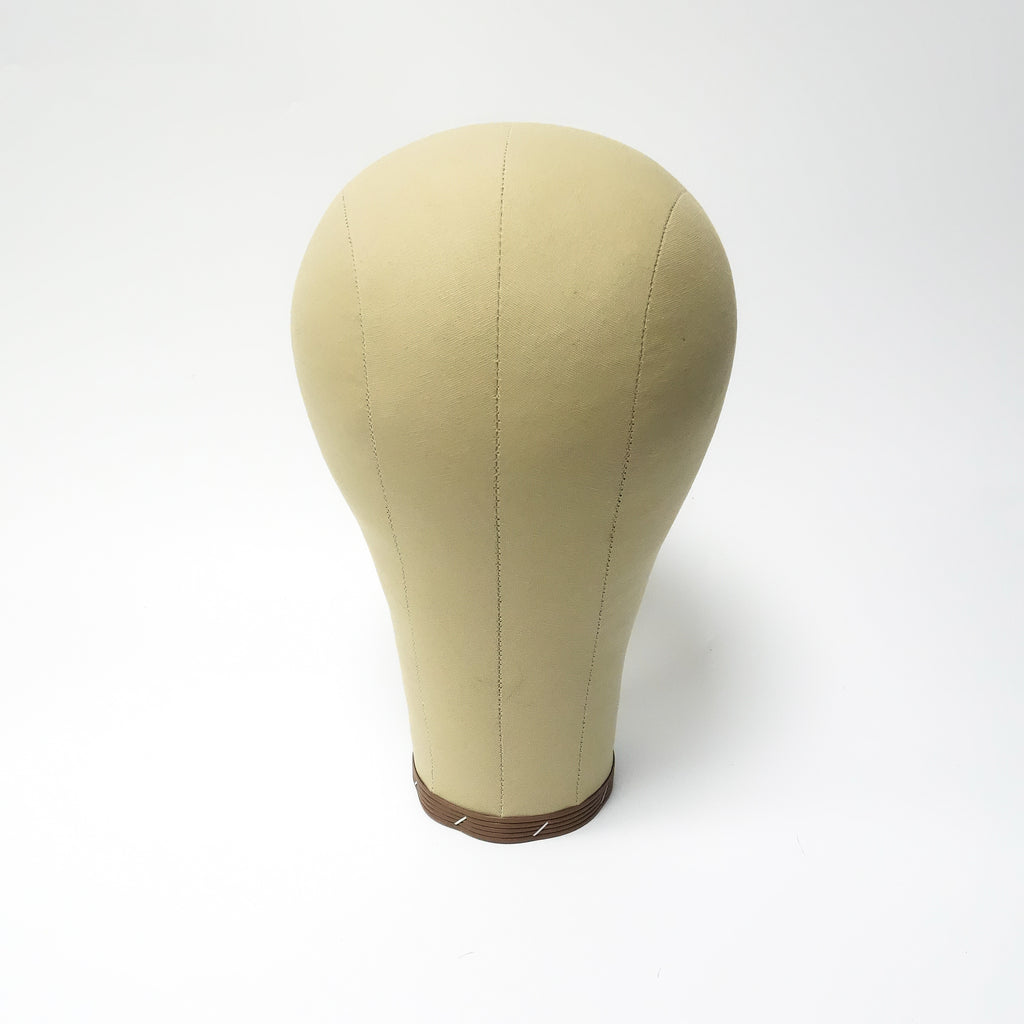 Canvas Head | Wig Block Long Neck