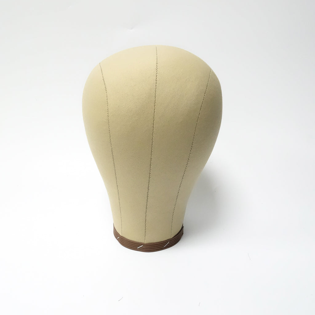 Canvas Head | Wig Block Short Neck