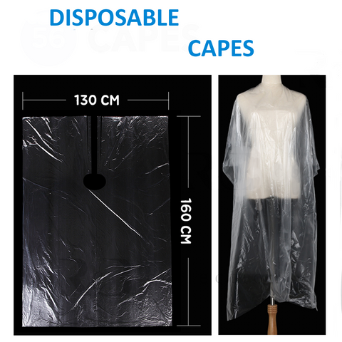 Disposable Capes 50 Count