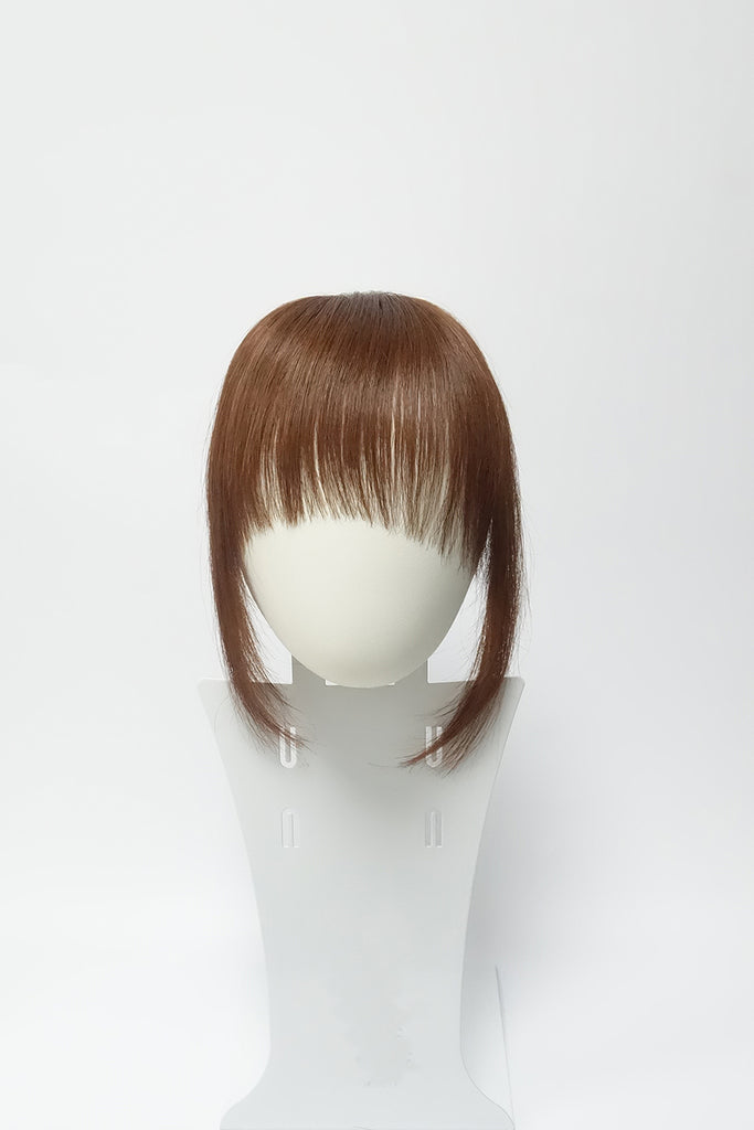 Feather Bang | 100% Human Hair Clip In Bangs