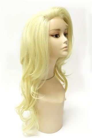 Lace 008 | Synthetic Lace Front Wig with Transparent Lace