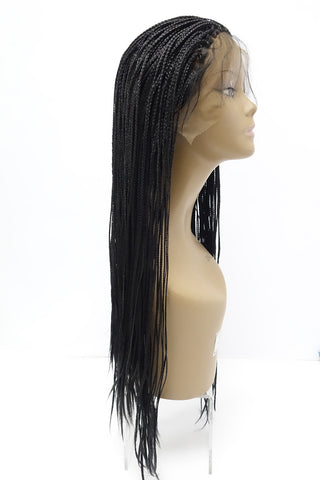 BOX BRAID LACE WIG - MICRO BRAIDS