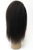 360 Lace Wig | 100% Human Hair Kinky Straight