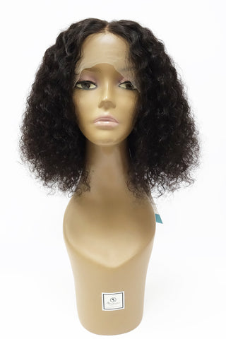LH CURLY BLUNT | 100% HUMAN HAIR LACE WIG 180% DENSITY