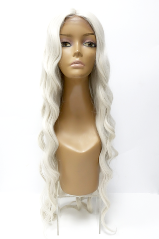 Momo | Synthetic Long Wavy Lace Front Wig