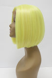 NEON2 | Synthetic Bob Style Lace Front Wig Bright Colors