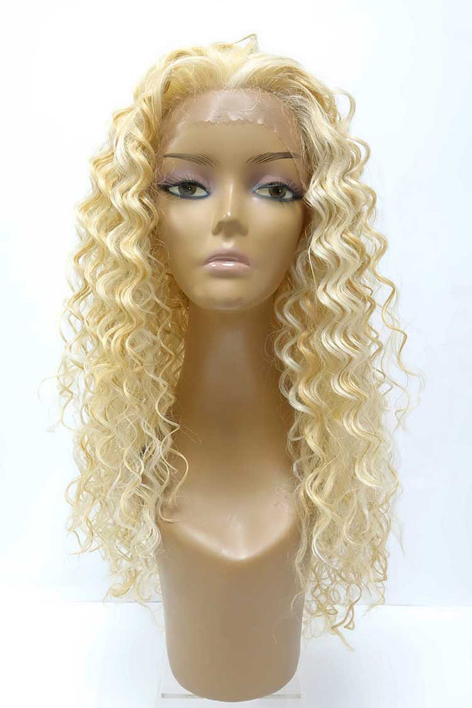 Sanya | Synthetic Long Curly Lace Front Wig