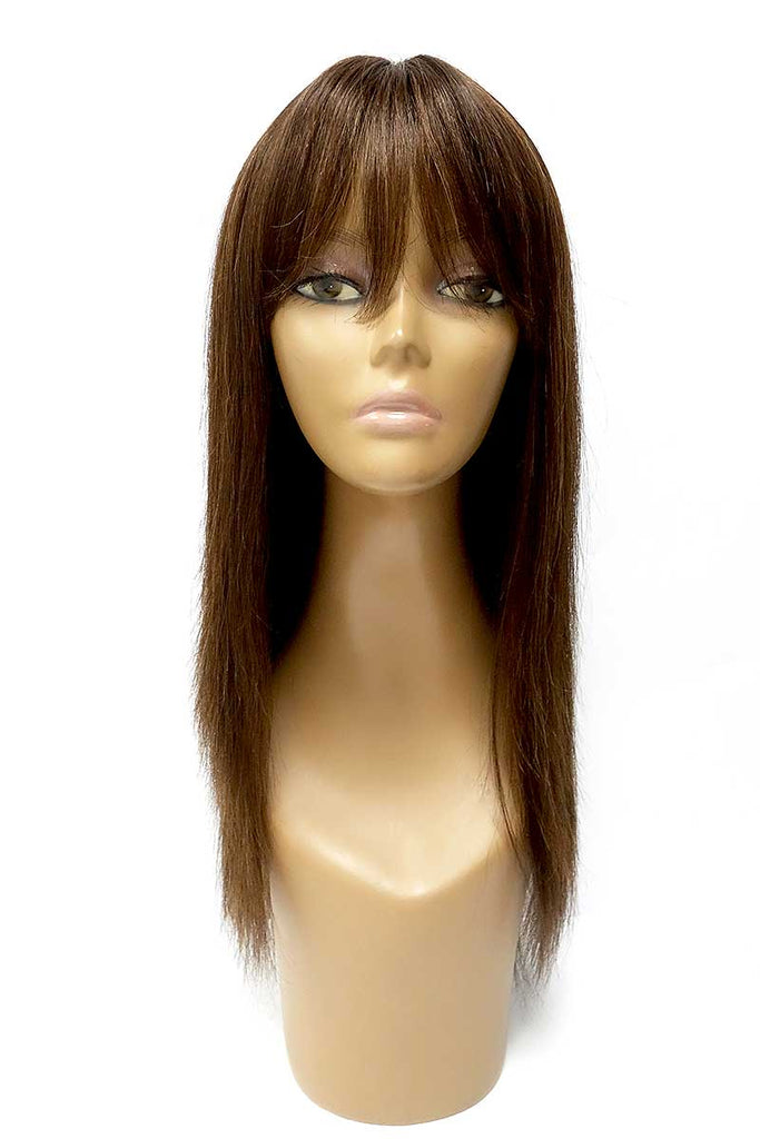 Venus | 100% Human Hair Long Wig with Bangs