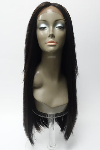 "VH-1 26"" LONG RELAXED HAIR TEXTURED LACE FRONT"