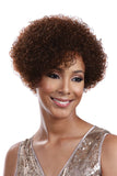 ANNE | 100% Human Hair Short Curly Wig