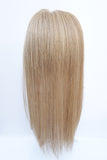 100% human hair bumper clip in hairpiece for volume