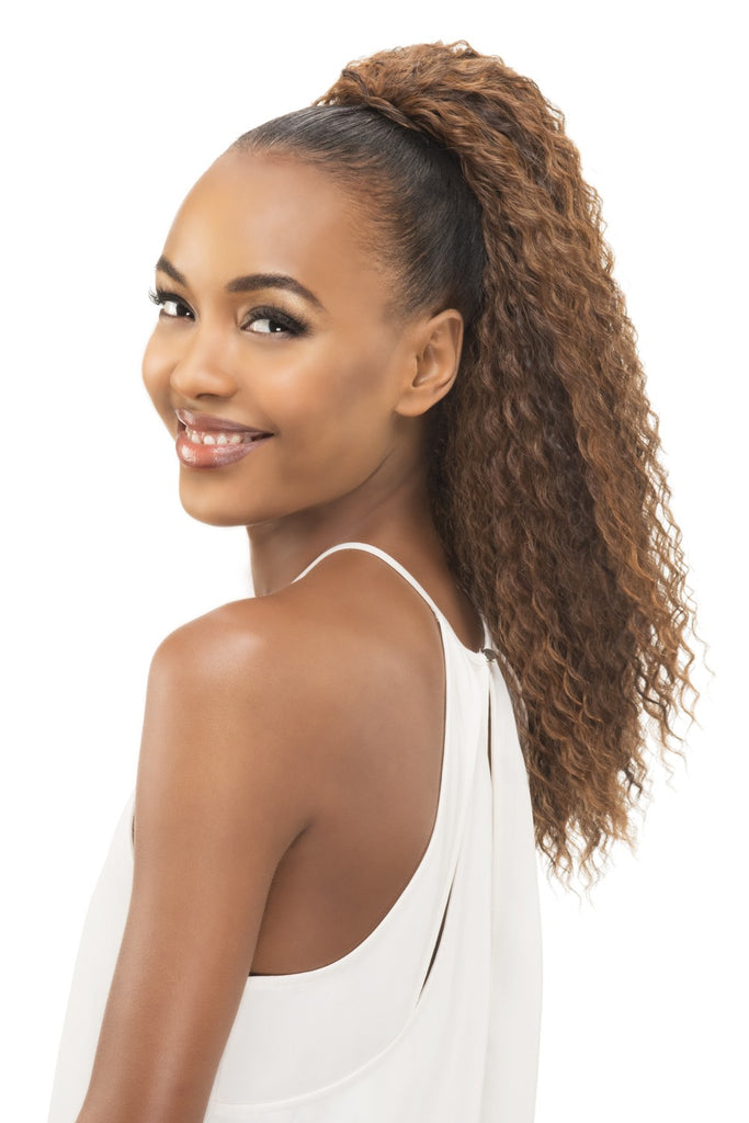 LOOSE STRAW CURL PONYTAIL 21""