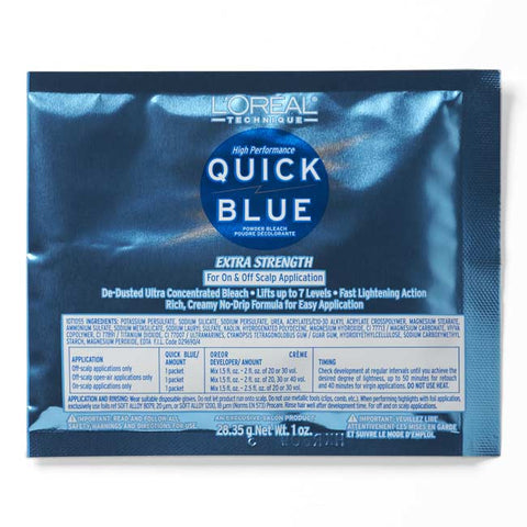 L'Oreal Quick Blue High Performance Lightener Packette 1oz