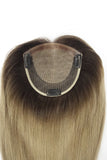 SILKBASE TOPPER | 100% Human Hair Clip in Hair Piece