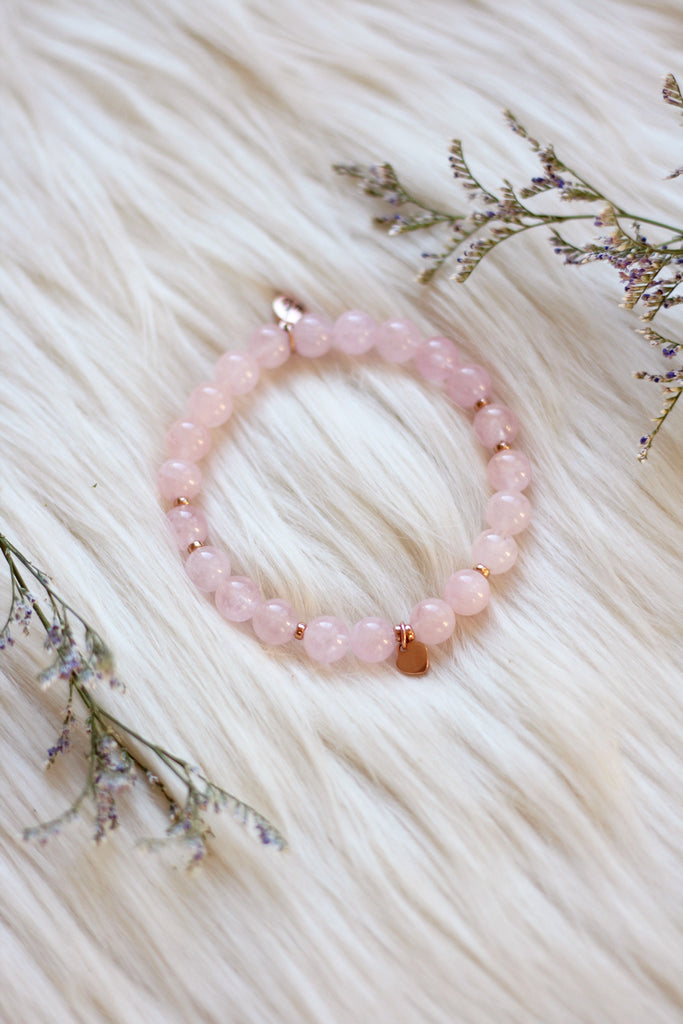 Magic of Rose Mala Bracelet