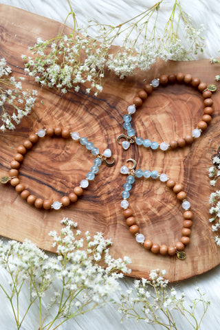 Crystalline Dreams Mala Bracelet