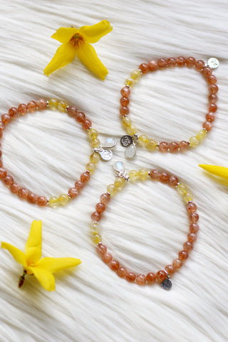 Adventuress :: Aries Moon Mala Bracelet