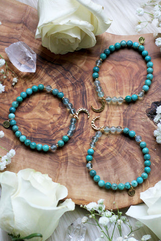 Goddess :: Virgo Moon Mala Bracelet
