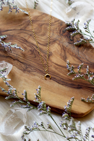 Moonchild Gold Necklace