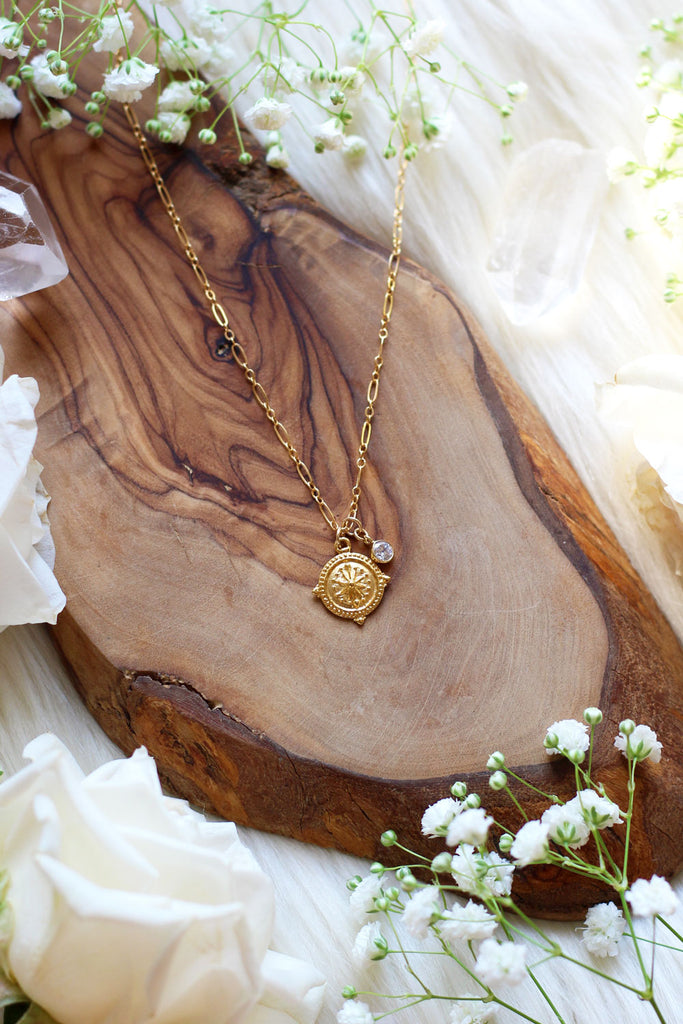 Shipwrecked Gold Necklace
