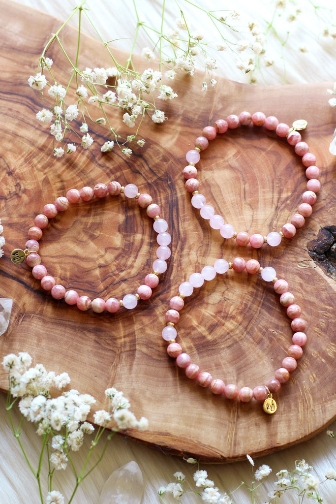 Hearten :: Cancer Moon Mala Bracelet
