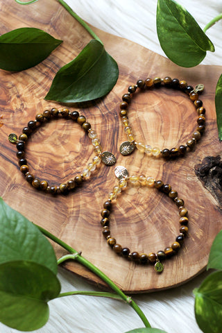 Cosmic Smoky Quartz Choker/Wrap Bracelet {Gold or Silver}