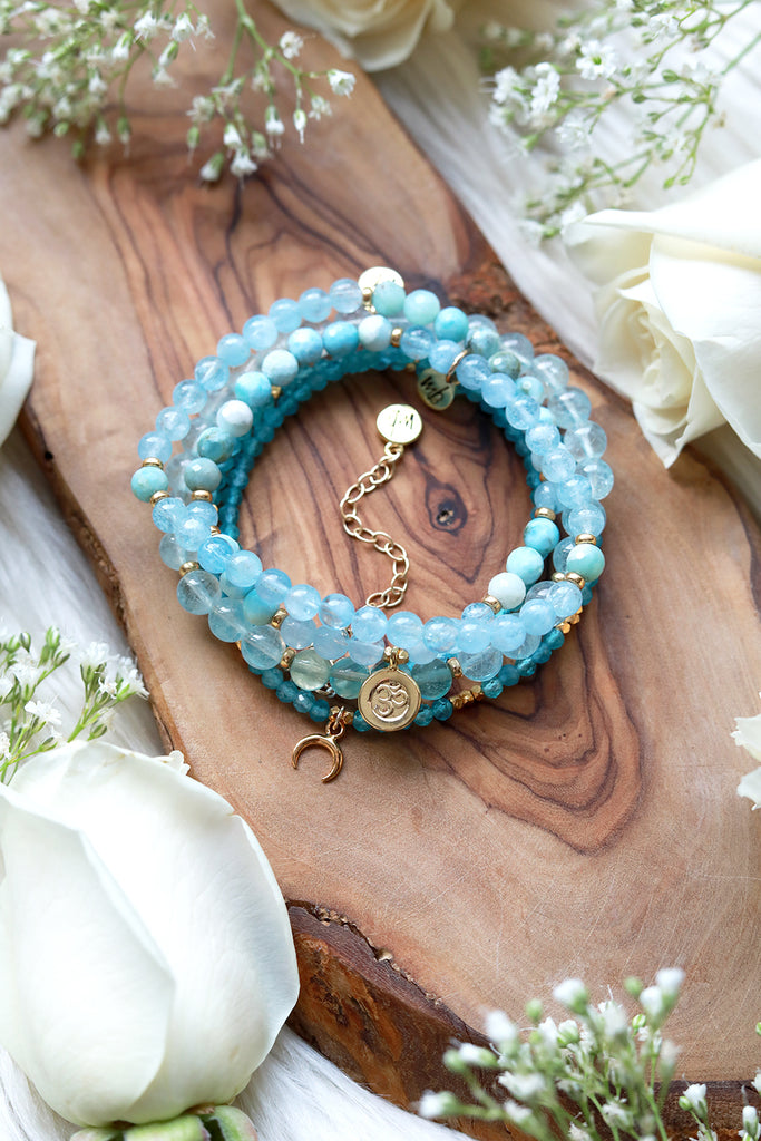 Surrender & Flow Mala Bracelet Stack {$270 Value}