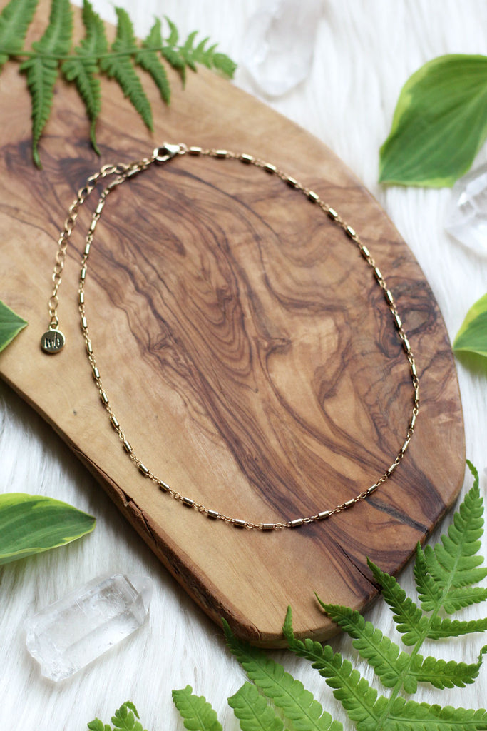 Jungle Moon Gold Choker