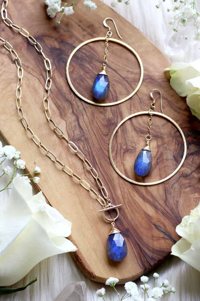 Labradorite Queen Set {$248 Value}