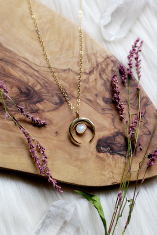 Moonlight Gold Necklace