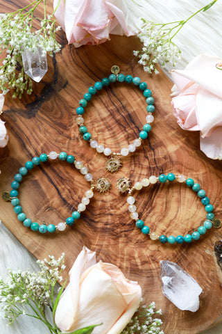 Garden of Joy :: Taurus Moon Mala Bracelet