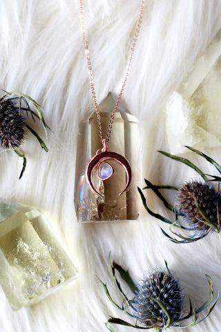 Shakti Rose Gold Necklace