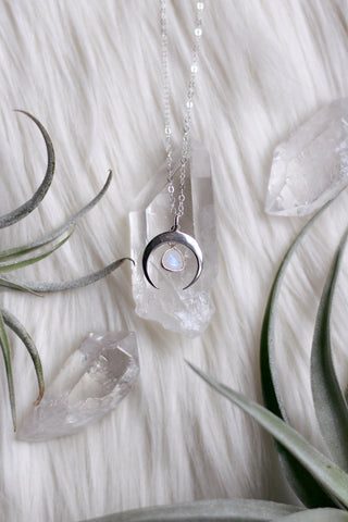 Moonlight Silver Necklace