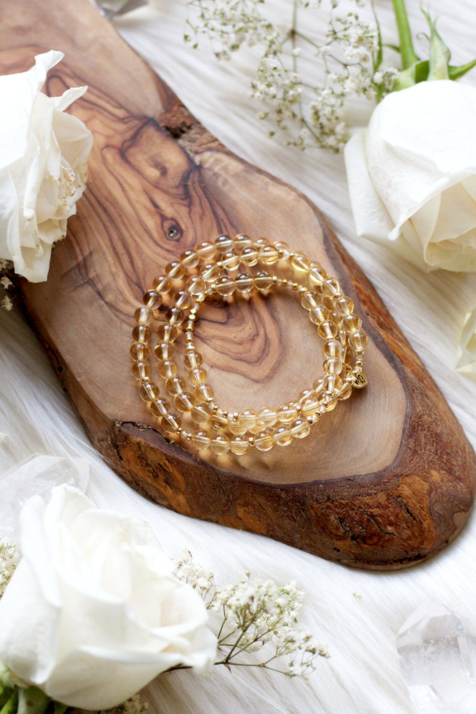 Ground & Flourish Mala Bracelet Wrap