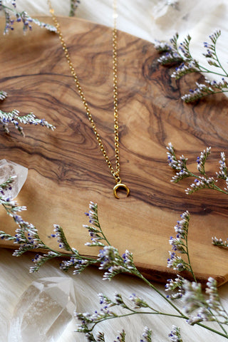 SAMPLE SALE ~ Starburst Gold Necklace