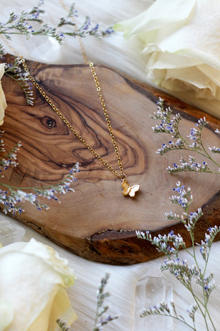 Metamorphosis Gold Necklace