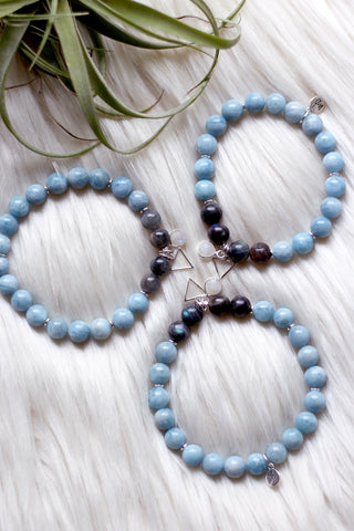 Aquamarine Serenity Necklace