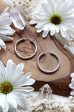 Chunky Medium Silver Hoops