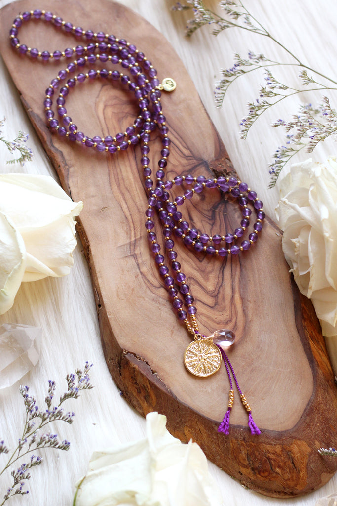 Amethyst Serenity Necklace