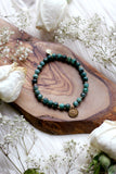 Emerald Dreams Mala Bracelet {Choose Your Charm}