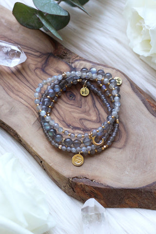 Aurora Mala Bracelet Stack {$207 Value}