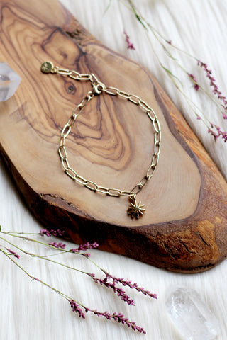 Sunbeam Gold Link Bracelet