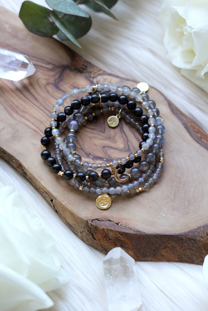Power Mala Bracelet Stack {$261 Value}