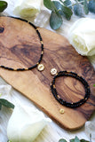 Cosmic Black Spinel Choker/Wrap Bracelet