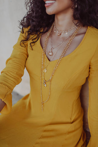 Citrine Serenity Necklace