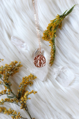 Beeloved Rose Gold Necklace