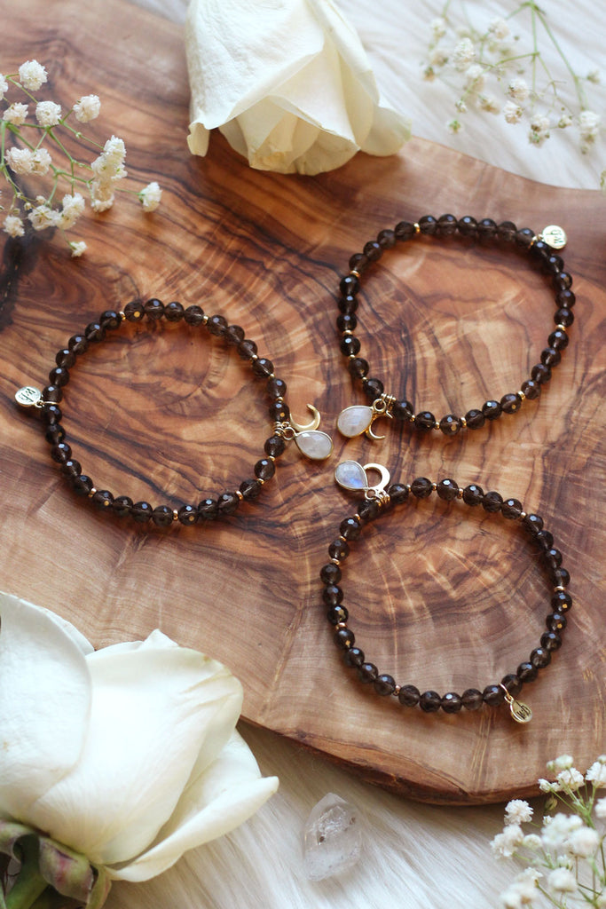 Ground and Flow Mala Bracelet